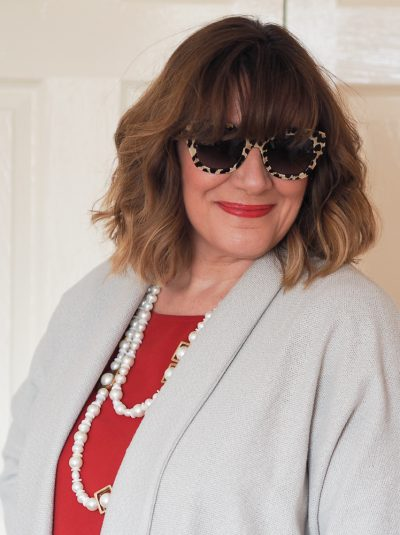Maria sadler, stylist and fashion blogger